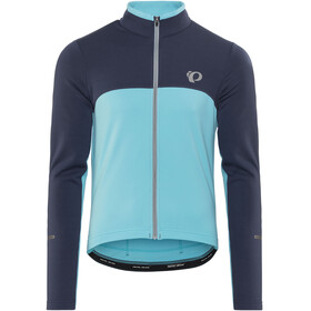 PEARL iZUMi Select Thermal Jersey Men Eclipse Blue/Blue Mist